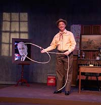 Rob Cork as Will Rogers