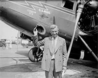 Will Rogers and airplane